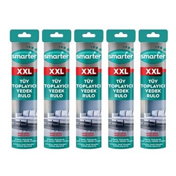 Smarter XXL Tüy Toplayıcı Yedek Rulo 5'li Paket