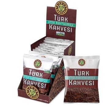 Kahve Dünyası Orta Kavrulmuş Türk Kahvesi 100 gr x 12 Paket