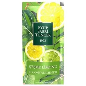 Eyüp Sabri Tuncer Çeşme Limonu Kolonyalı Mendil 150'li