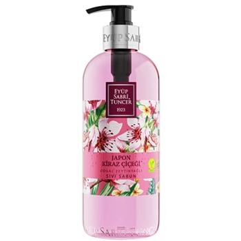 Eyüp Sabri Tuncer Japon Kiraz Çiçeği Doğal Zeytinyağlı Sıvı Sabun 500 ml