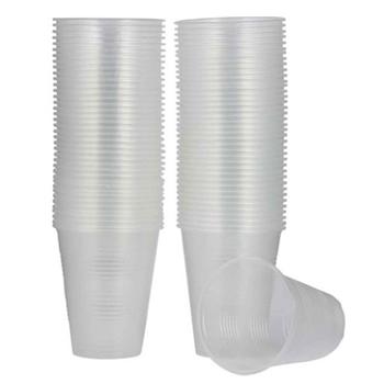 Plastik Bardak 7 Oz 180 ml 3000'li Şeffaf