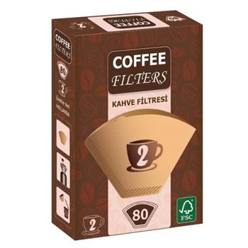 Coffee Filters Filtre Kahve Kağıdı No: 2 80'li