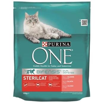 Purina One Sterilised Kısırlaştırılmış Kedi Maması Somonlu 800 gr