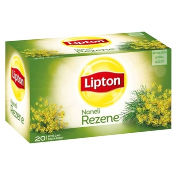 Lipton Bardak Poşet Bitki Çayı Naneli Rezene 20'li